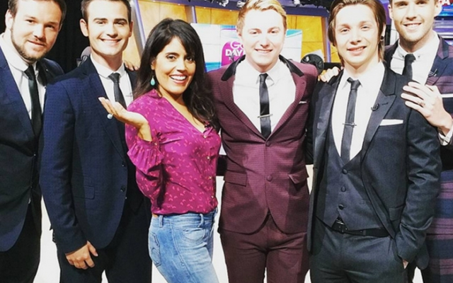 Collabro Makes it to LA