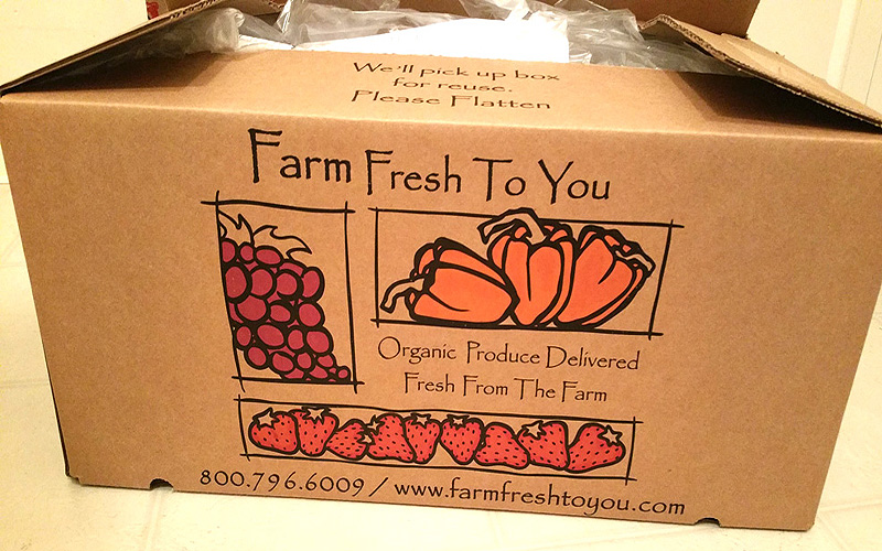 Special Delivery: Farm Fresh To You