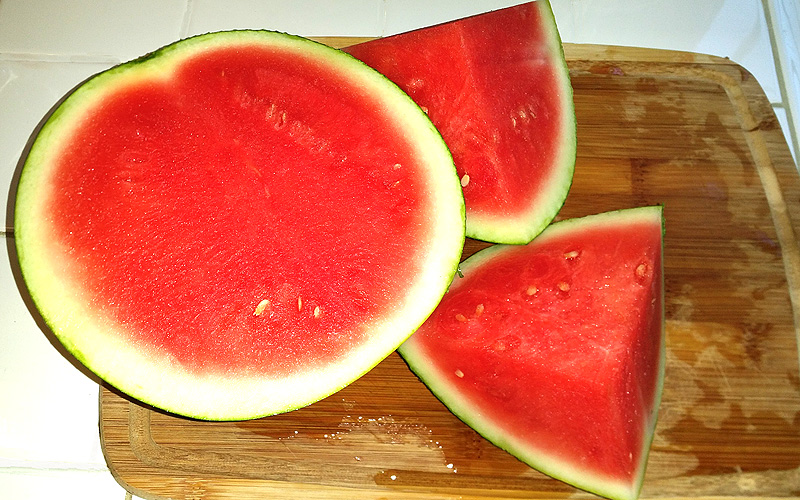 Farm Fresh To You's wonderfully juicy watermelon