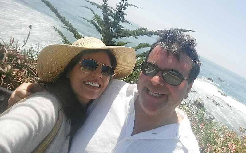 Laguna Beach is for lovers ... me and the hubby!