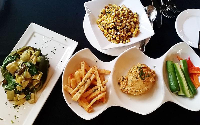 Nirvana Grille offers a heavenly vegan feast