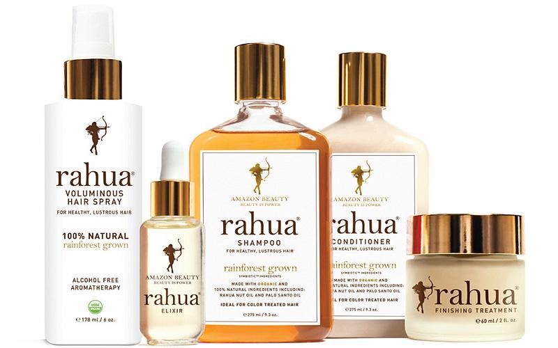 Rahua's amaze Amazonian hair care