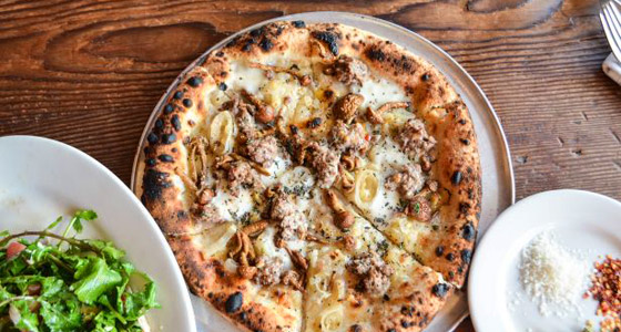Gjelina pizza - Photo courtesy of Food Network