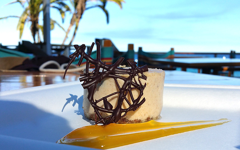 Descanso Beach Club dessert - Photo by Mar Yvette