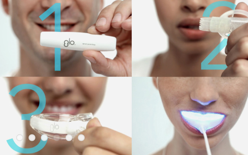 GloScience brightens teeth up to five shades whiter
