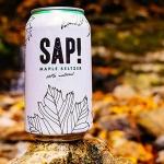 Maple Sap Seltzer - Best Vegan Maple Snacks