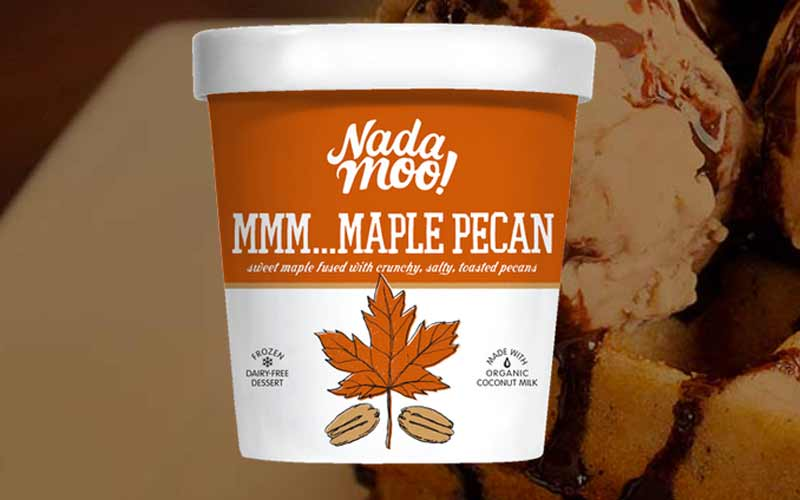 Nada Moo Maple Pecan Vegan Ice Cream
