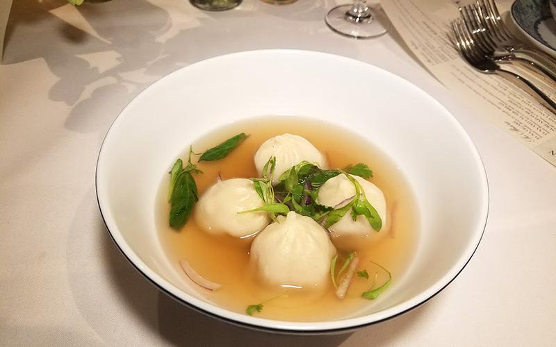 Crustacean dumplings
