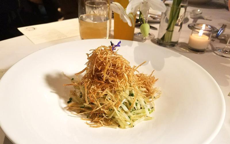 Crustacean karate salad