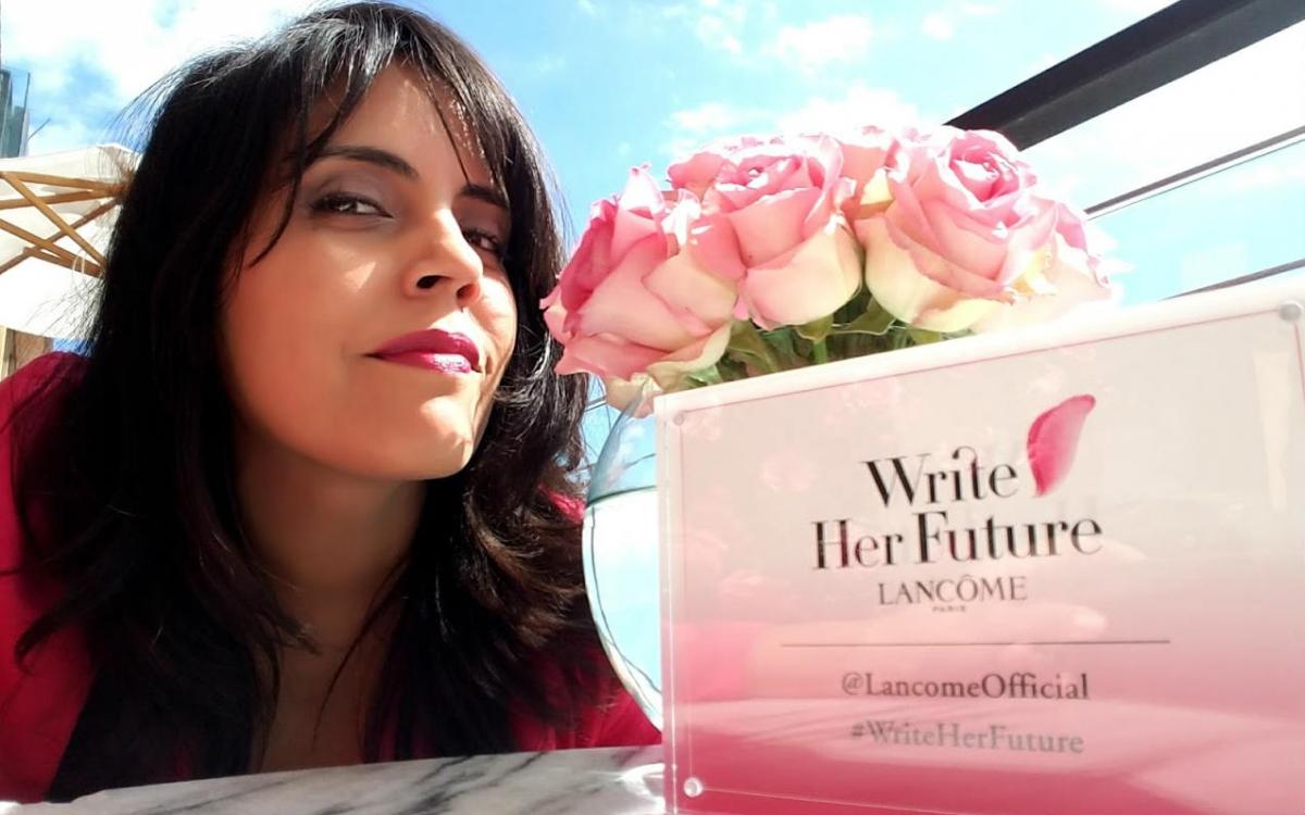 Lancome's #WriteHerFuture Campaign