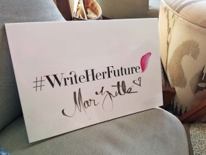 #WriteHerFuture