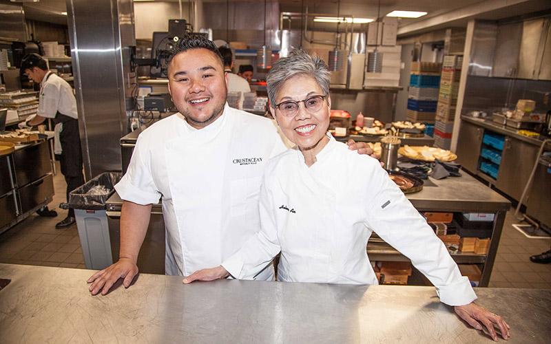Tony Nguyen and Helene An - Photo by Ian Bailey
