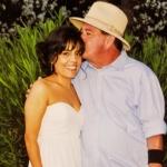 My beloved Dad on my wedding day
