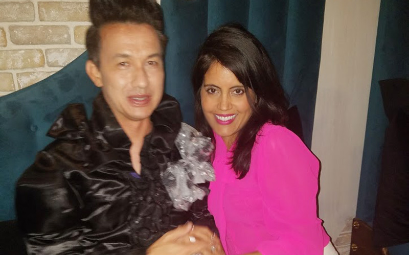 Bobby Trendy and Mar Yvette at Tom Tom West Hollywood
