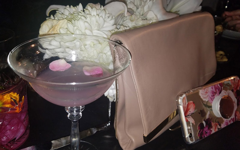 Madame Butterfly cocktail at Tom Tom West Hollywood