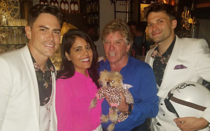 Mar Yvette with Ken Todd, Giggy and Tom Tom West Hollywood