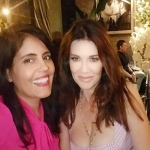 Mar Yvette + Lisa Vanderpump at the opening of Tom Tom in West Hollywood