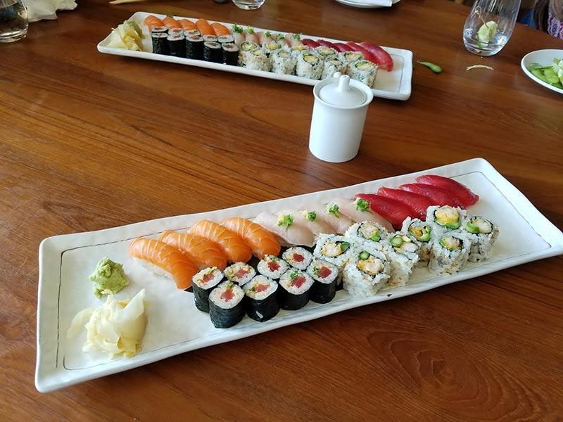 Nobu Malibu sushi