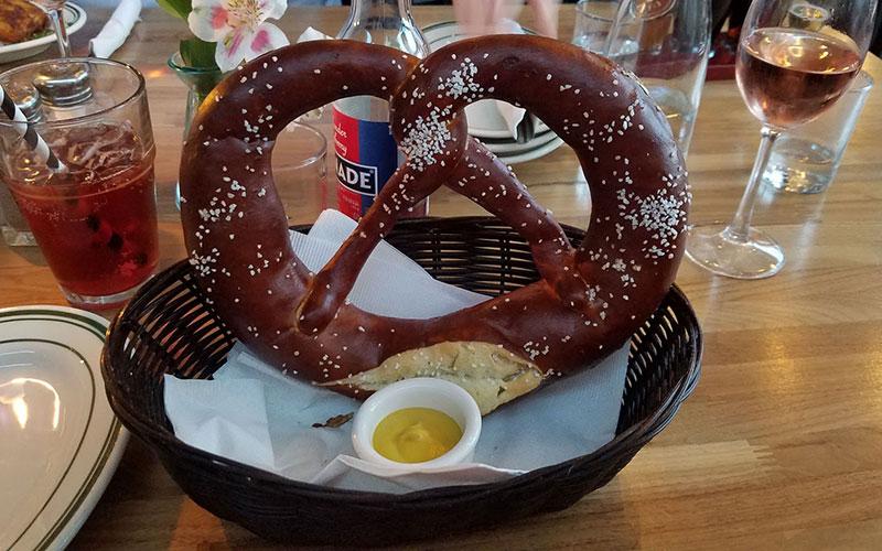 Hinterhof pretzel