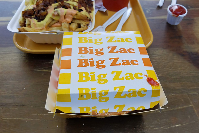 Big Zac container