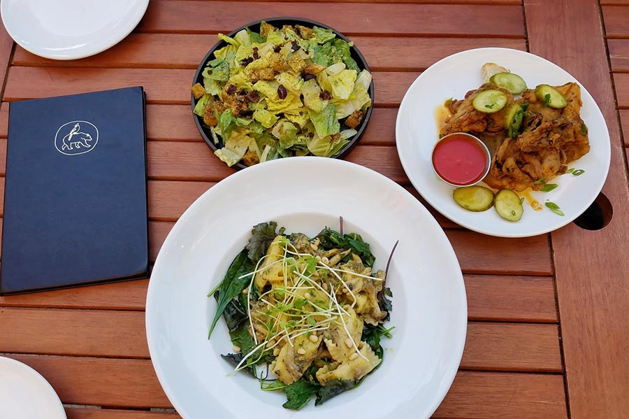 Donna Jean vegan food