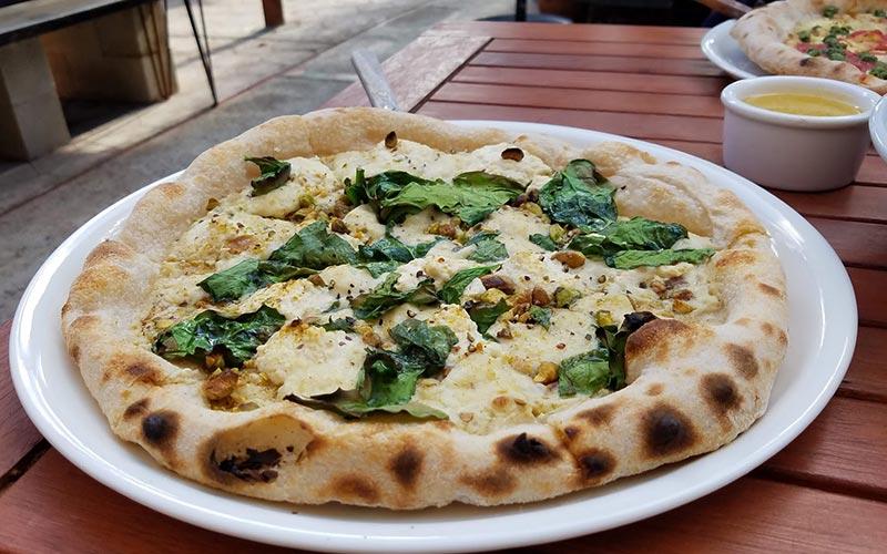 Donna Jean white pizza