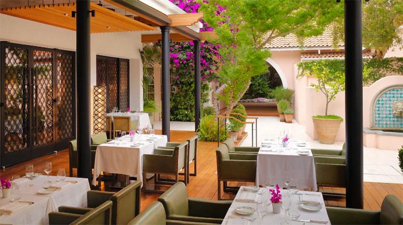 Where celebrities eat: Hotel Bel Air