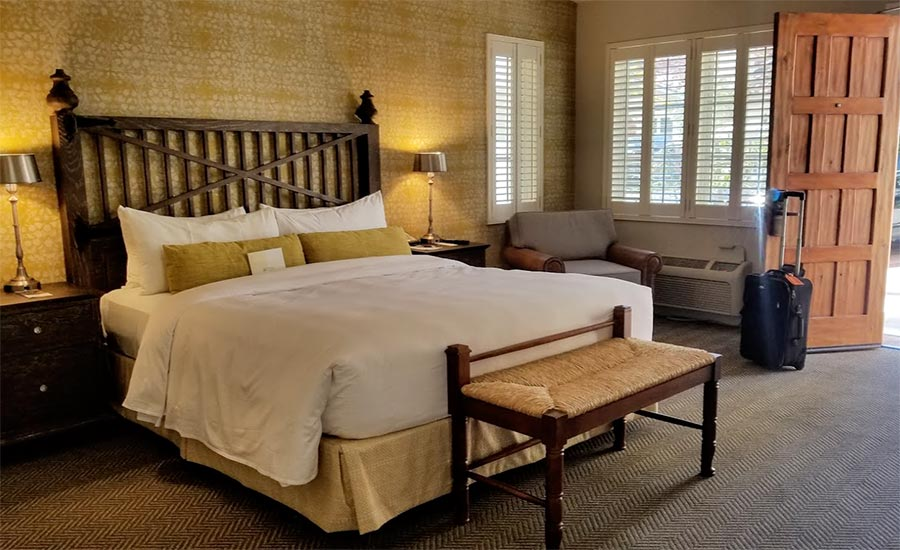 Guest room at The Inn at Rancho Santa Fe