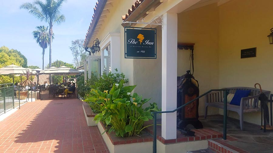 Inn at Rancho Santa Fe entrance