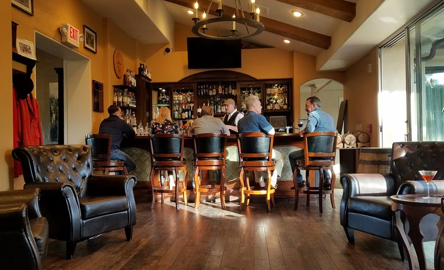 The Hunstman Whiskey Bar - Inn at Rancho Santa Fe