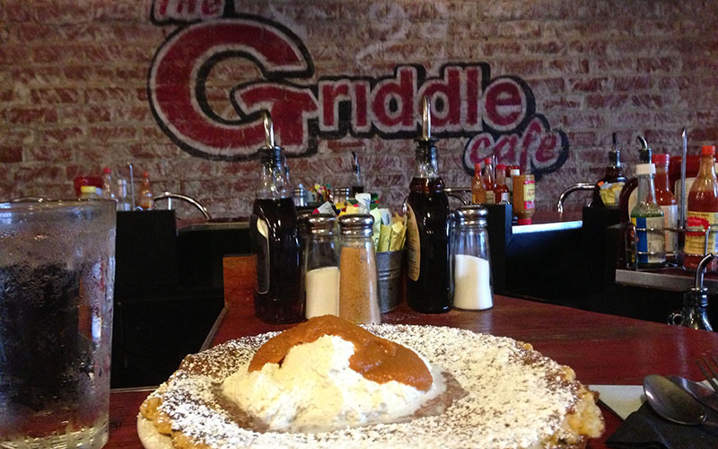 Where celebrities eat: Griddle Cafe