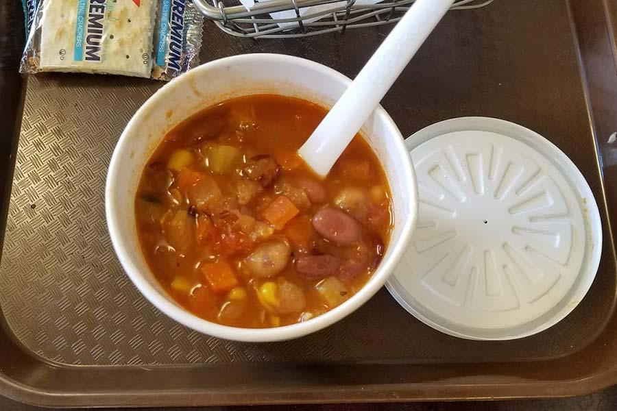 Vegan Yellowstone soup